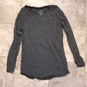 american eagle soft & sexy striped long sleeve